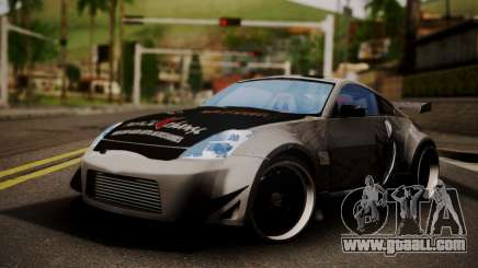 Nissan 350z Angel Beast Itasha Edition for GTA San Andreas