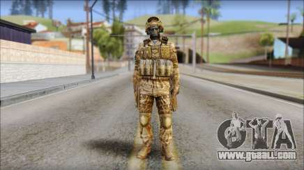 Desert GRU from Soldier Front 2 for GTA San Andreas