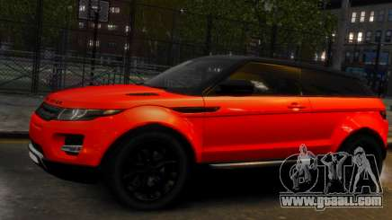 Land Rover Range Rover Evoque for GTA 4