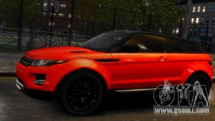 Land Rover Range Rover Evoque for GTA 4