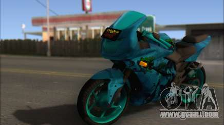 Kawasaki Ninja 250 RR Highschool DxD for GTA San Andreas
