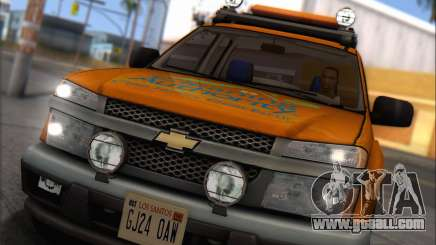 Chevrolet Colorado Cleaning for GTA San Andreas