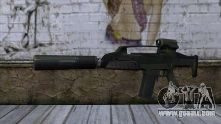 XM8 Compact Green for GTA San Andreas
