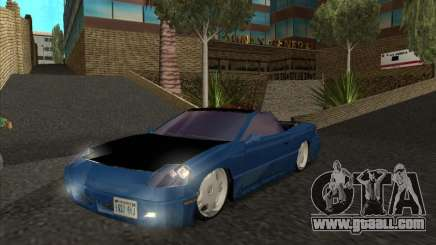 Alpha HD Cabrio for GTA San Andreas