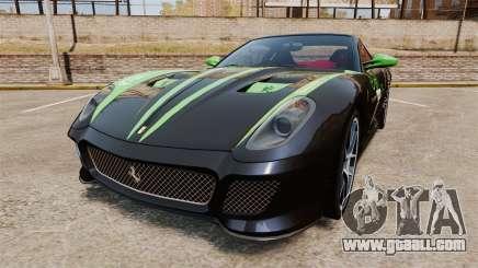Ferrari 599 GTO PJ1 for GTA 4