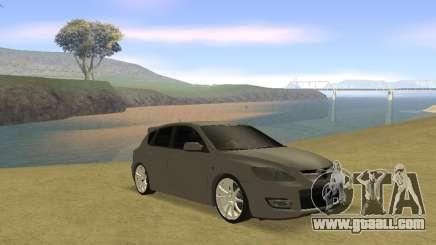 Mazda 3 v2 for GTA San Andreas