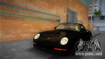 Porsche 959 1986 for GTA Vice City
