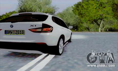 Bmw X1 for GTA San Andreas right view