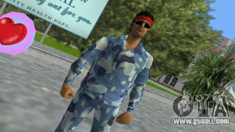 Camo Skin 11 for GTA Vice City