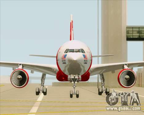 Airbus A330-300 Air Asia X for GTA San Andreas side view