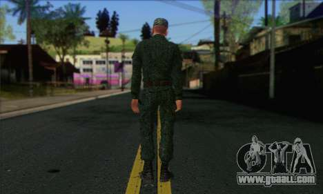 Private Motorized Rifle Troops. RAA v2 for GTA San Andreas second screenshot