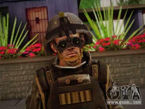 Боец СВР (Tom Clancy Splinter Cell) v1 for GTA San Andreas third screenshot