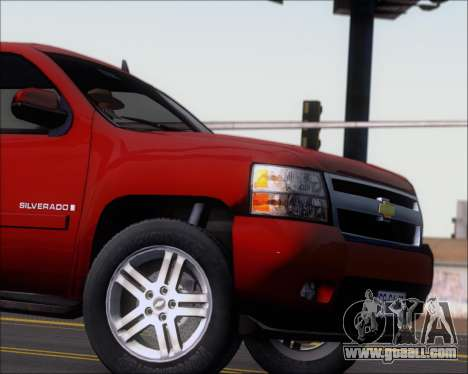 Chevrolet Silverado 2011 for GTA San Andreas inner view