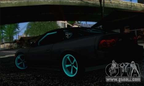 Nissan 240SX Drift Monster Energy for GTA San Andreas left view