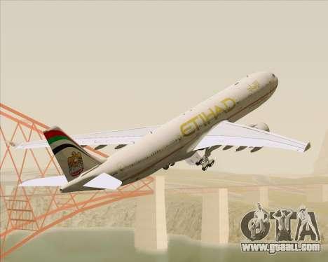 Airbus A330-300 Etihad Airways for GTA San Andreas