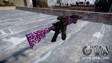 Automatic rifle Colt M4A1 party rock for GTA 4 second screenshot