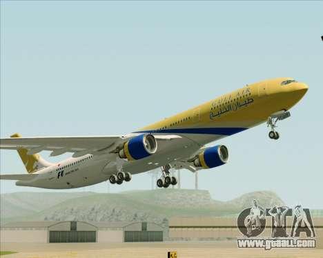 Airbus A330-300 Gulf Air for GTA San Andreas inner view
