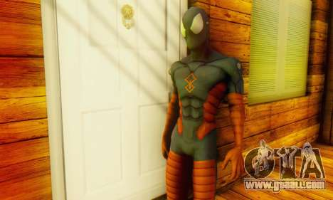 Skin The Amazing Spider Man 2 - DLC Anti-Electro for GTA San Andreas