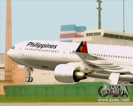 Airbus A330-300 Philippine Airlines for GTA San Andreas side view
