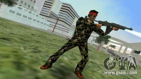 Camo Skin 01 for GTA Vice City forth screenshot