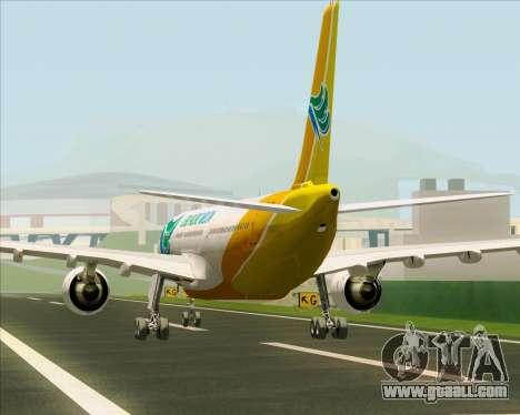 Airbus A330-300 Cebu Pacific Air for GTA San Andreas engine