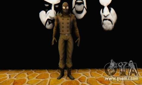 Skin The Amazing Spider Man 2 - DLC Noir for GTA San Andreas forth screenshot