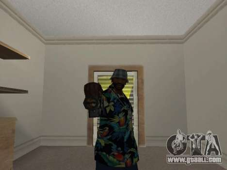 Pose gangster for GTA San Andreas forth screenshot