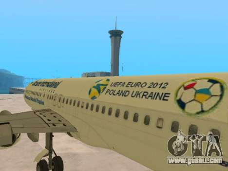 Boeing 737-84R Ukraine International Airlines for GTA San Andreas side view