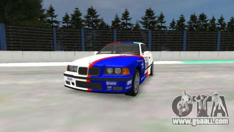 BMW M3 E36 for GTA 4 left view