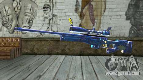 Graffiti Sniper Rifle v2 for GTA San Andreas
