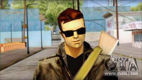 Shades and Gun Claude v2 for GTA San Andreas third screenshot