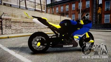 Yamaha R1 2007 Stunt for GTA 4 left view