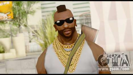 MR T Skin v8 for GTA San Andreas third screenshot
