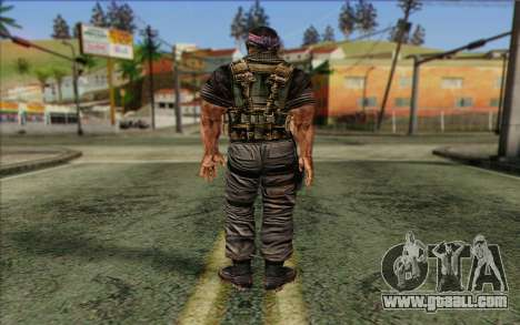 Soldiers from the Rogue Warrior 3 for GTA San Andreas second screenshot