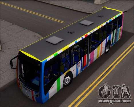 Caio Millennium II Volksbus 17-240 for GTA San Andreas back view