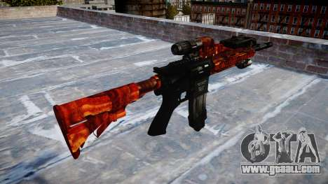 Automatic rifle Colt M4A1 bacon for GTA 4 second screenshot