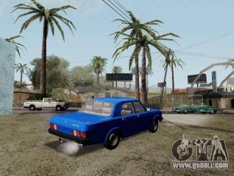 GAZ 31029 Volga for GTA San Andreas left view