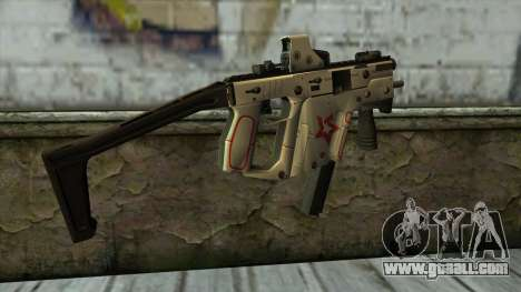 Kriss Super from PointBlank v2 for GTA San Andreas second screenshot