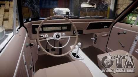Chevrolet II Nova SS 1966 Custom [EPM] PJ2 for GTA 4 back view