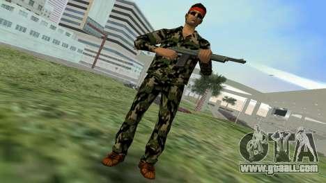 Camo Skin 01 for GTA Vice City second screenshot