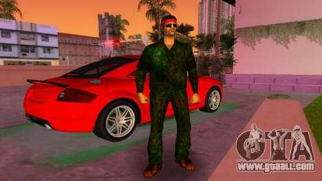 Camo Skin 14 for GTA Vice City second screenshot