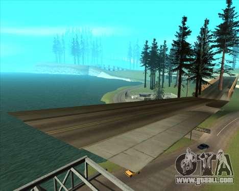 Sky Road Merdeka for GTA San Andreas seventh screenshot