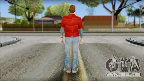Marty with Vest 1985 for GTA San Andreas second screenshot