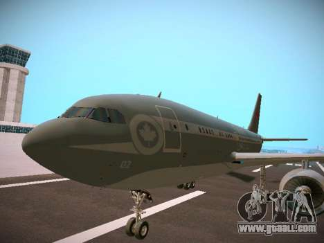 Canadian Forces Airbus CC150 Polaris for GTA San Andreas back left view
