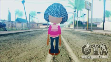 Libby Folfax from Jimmy Neutron for GTA San Andreas second screenshot