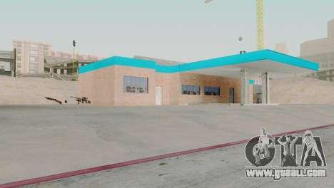 New textures garage in San Fierro for GTA San Andreas second screenshot
