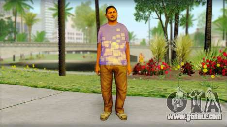 GTA 5 Ped 21 for GTA San Andreas