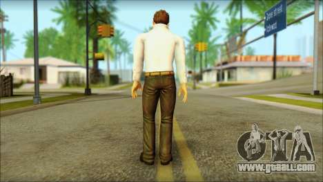 Dead Or Alive 5 Jann Lee 3rd Outfit for GTA San Andreas second screenshot