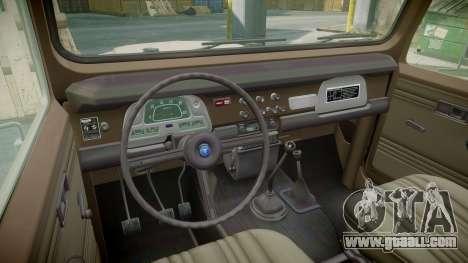 Toyota FJ40 Land Cruiser 1978 v1.7 for GTA 4 back view
