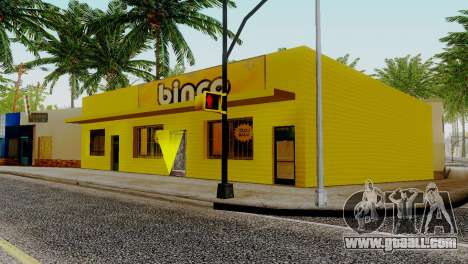 New textures for Binco on grove street for GTA San Andreas